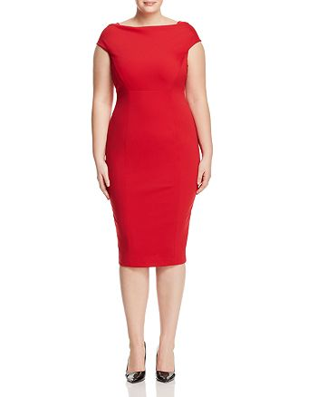 Marina Rinaldi - Doryshapely Midi Pencil Dress