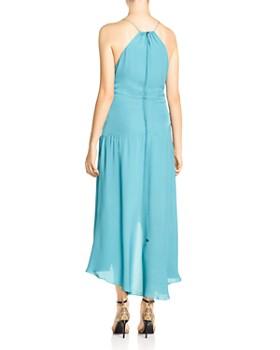 Haute Hippie - The Marina Ruched High/Low Hem Silk Dress
