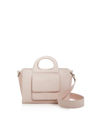 SMALL GRACE LEATHER TOP HANDLE BAG