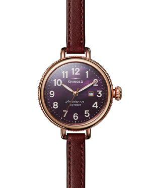 Shinola Birdy Watch, 34mm