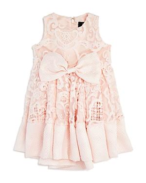 Bardot Junior Girls' Lace & Mesh Bow Dress - Baby