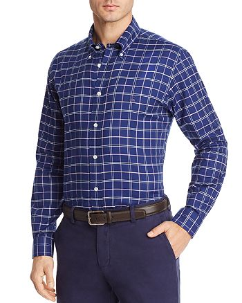 Brooks Brothers - Oxford Plaid Long Sleeve Button-Down Shirt