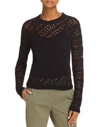 Theory - Crochet Sweater