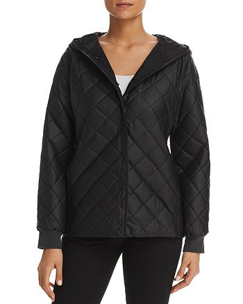 Eileen Fisher - Quilted Hooded Jacket