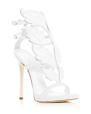 Giuseppe Zanotti Women's Cruel Coline Leather Wing Embellished High Heel Sandals