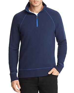 Michael Kors Ottoman Half-Zip Sweater