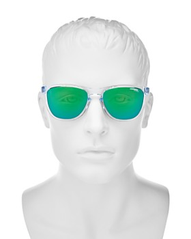 Carrera - Men's Mirrored Square Keyhole Sunglasses, 55mm