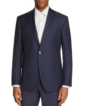 Jack Victor Tonal Check Regular Fit Sport Coat 2811669