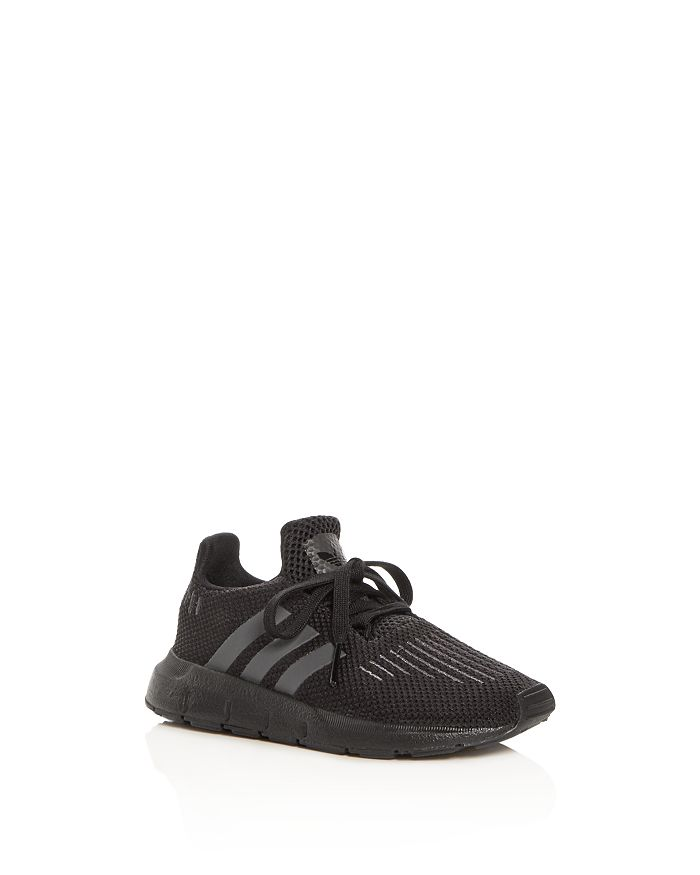 Adidas - Unisex Swift Run Knit Lace Up Sneakers - Walker, Toddler