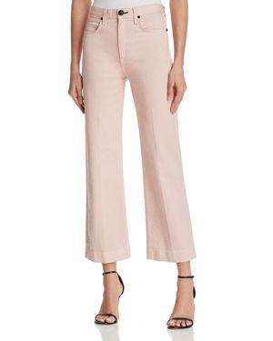 rag & bone/Jean Justine Ankle Trouser Jeans in Blush Twill