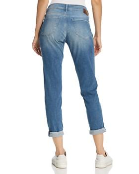Mavi - Emma Boyfriend Jeans in Indigo Ripped Nolita