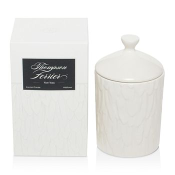 Thompson Ferrier - Feather Print Wildflower Candle