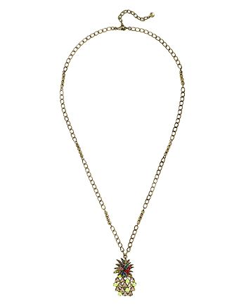 "BAUBLEBAR - Pineapple Pendant Necklace, 33"""
