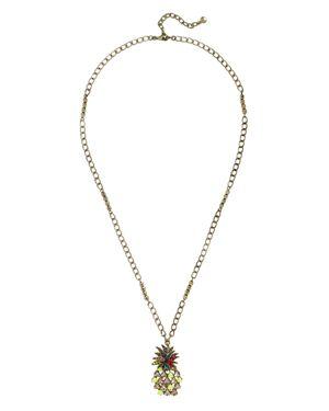 Baublebar Pineapple Pendant Necklace, 33