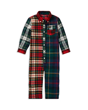Ralph Lauren Childrenswear Boys Mixed Plaids Coverall  Baby