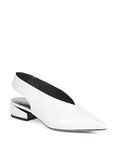Via Spiga - Women's Darwin Pointed Toe Slingback Pumps