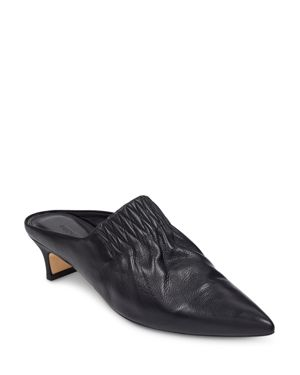 Sigerson Morrison Women's Marie Leather Pointed Toe Mules