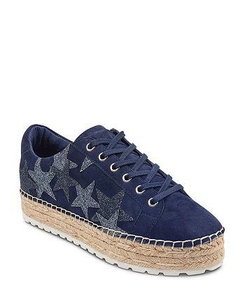 Marc Fisher LTD. - Women's Maevel Suede Platform Espadrille Sneakers