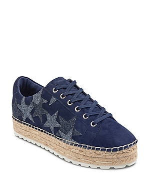 Marc Fisher Ltd. Women's Maevel Suede Platform Espadrille Sneakers