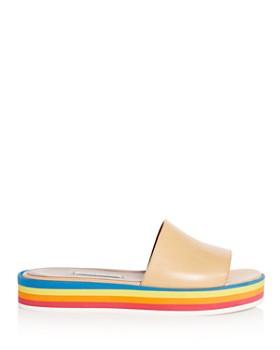 Tabitha Simmons - Women's Sophia Platform Slide Sandals