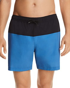 Theory Cosmos Color-Block Stretch Swim Trunks - Bloomingdale's_0