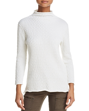 French Connection Molly Mozart Textured Sweater