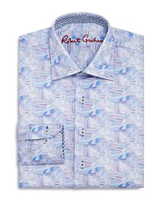 Robert Graham Boys' Geometric Print Dress Shirt - Big Kid - Bloomingdale's_0