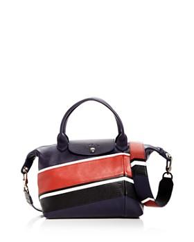 Longchamp - Le Pliage Chevron Shoulder Strap
