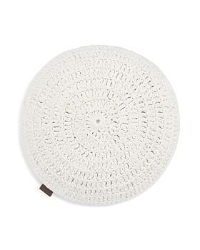 "UGG® - Crochet Decorative Pillow, 20"" Round"