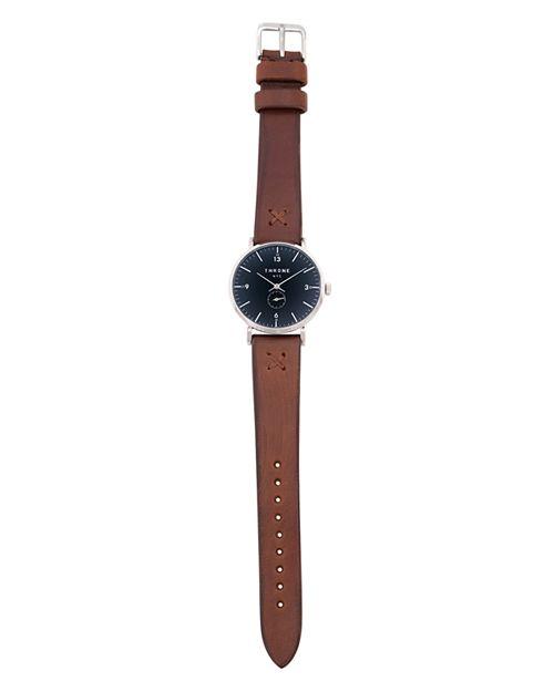 Throne - Silver 1.0 Maple Italian Band Watch, 36mm