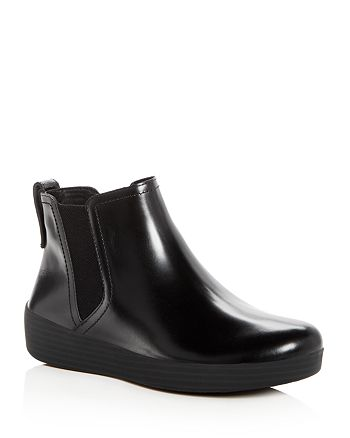 FitFlop - Women's Superchelsea Leather Booties
