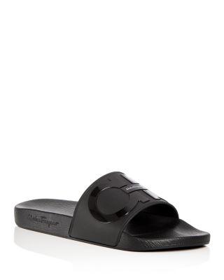 Original Double Gancini Slide Sandals