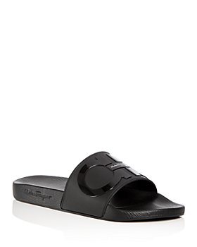 Salvatore Ferragamo - Men's Groove Slide Sandals