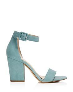 Botkier - Women's Shana Suede Block Heel Sandals - 100% Exclusive