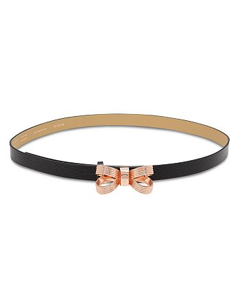 23a3da156 Ted Baker - Bowdi Looped Bow Leather Belt