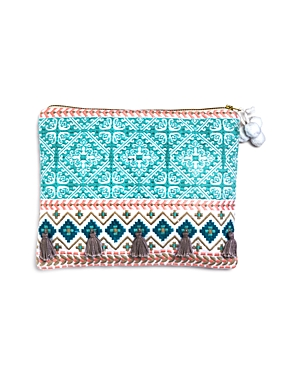 Sky Camilla Embroidered Pouch- 100% Exclusive