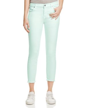 7 For All Mankind Roxanne Jeans in Pale Green - 100% Exclusive 2825087