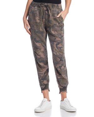 Pam & Gela Embellished Camo Jogger Pants