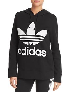 97c683082080f3 adidas Originals - Trefoil Hooded Sweatshirt ...