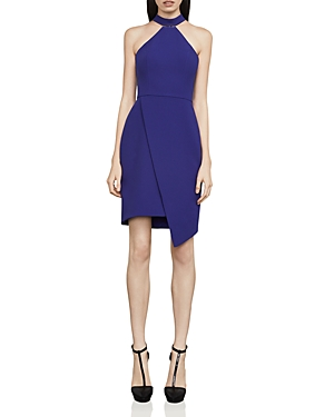 Bcbgmaxazria Makenna Asymmetric Sheath Dress