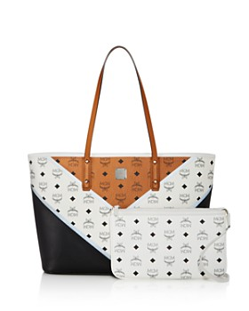 MCM - Anya Stark Chevron Visetos Leather Tote - 100% Exclusive