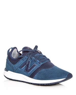 New Balance Women's 247 Suede Lace Up Sneakers