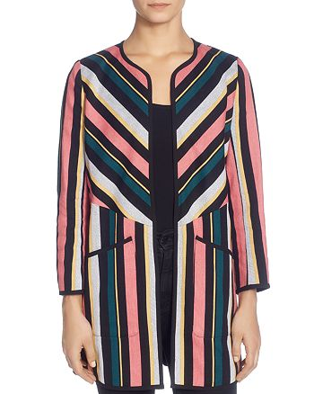 CATHERINE Catherine Malandrino - Pip Striped Jacket