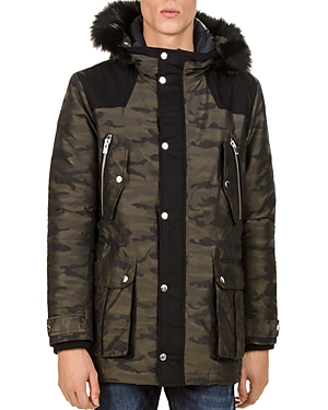 The Kooples Camouflage Parka