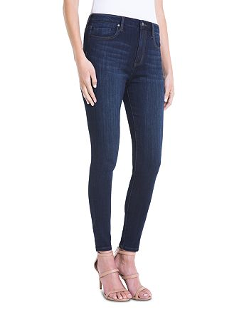 Liverpool - Bridget High-Rise Skinny Ankle Jeans in Dark Blue