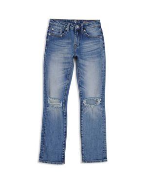 7 For All Mankind Boys' Distressed Straight-Leg Jeans - Little Kid, Big Kid 2809688