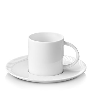 L'Objet - Corde Espresso Cup and Saucer
