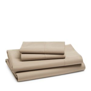 Hudson Park Collection 470TC Percale Solid Sheet Set, King - 100% Exclusive