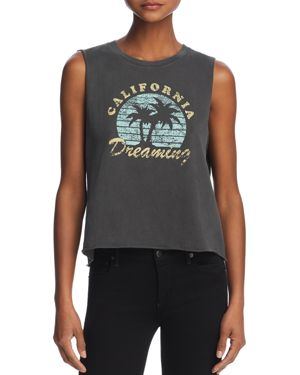 DESERT DREAMER CALIFORNIA DREAMING GRAPHIC MUSCLE TANK - 100% EXCLUSIVE