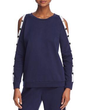 Honey Punch Snap-Sleeve Sweatshirt